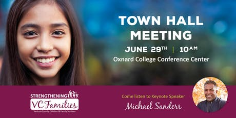 Strengthening VC Families Discover the Difference Townhall tickets