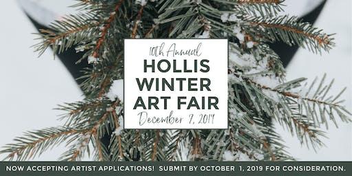 Hollis Winter Art Fair - 10th Annual