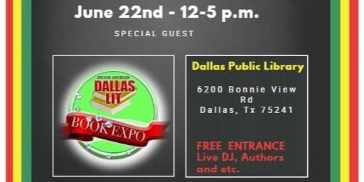 1st African American Dallas Lit Book Expo