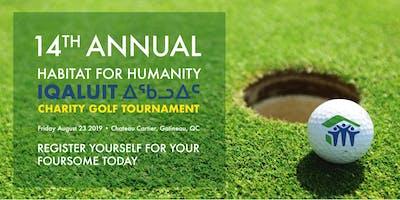 Habitat for Humanity Iqaluit 14th Annual Golf Tournament