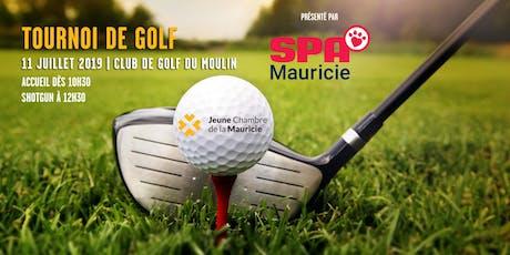 Tournoi de golf 2019 | présenté par la SPA Mauricie billets