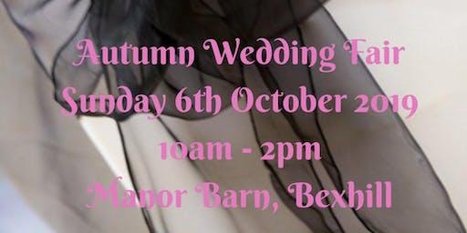 Autumn Wedding Fair