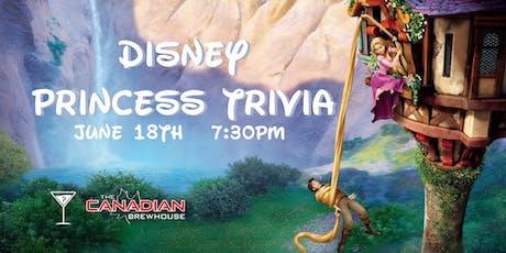 Disney Princess Trivia - June 18, 7:30pm - Eastgate Regina tickets