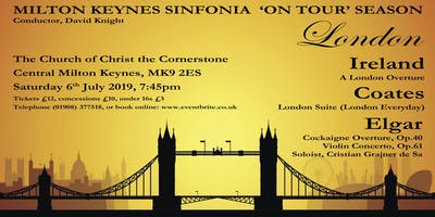 Milton keynes Sinfonia Summer Concert: London