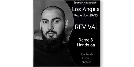 ADVANCED AIRTOUCH (HANDTOUCH) CLASS BY HAIRSEKTA. Demo/Hands-on. LA, CA tickets
