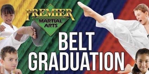 Premier Martial Arts Abilene 2019 Summer Belt Graduation