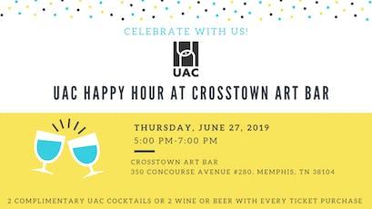 UAC Art Bar Happy Hour tickets