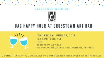 UAC Art Bar Happy Hour