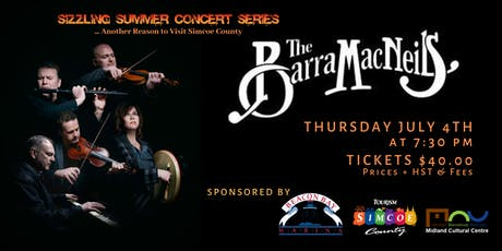 Sizzling Summer Series: the Barra MacNeils tickets