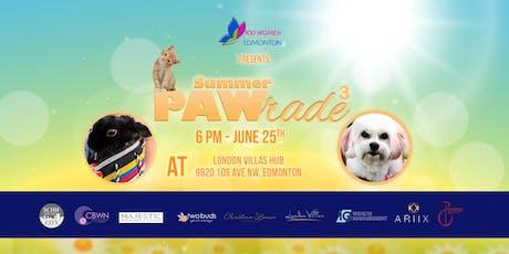 Summer PAWrade 3 - Summer 2019 Meeting - 100 Women Who Care Edmonton tickets