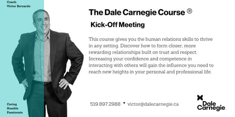 Dale Carnegie Course® - Kick-off (Kitchener) tickets