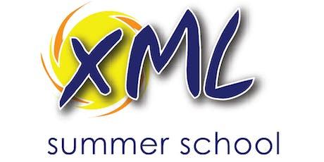 XML Summer School, 2019 tickets