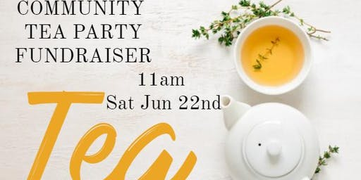 Community Tea Party Fundraiser for JC Freedom House shelter
