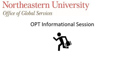 OPT Informational Session tickets