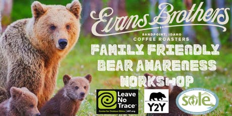 Family Friendly Leave No Trace Bear Awareness Workshop tickets