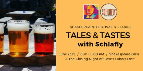 Tales and Tastes with Schlafly  tickets