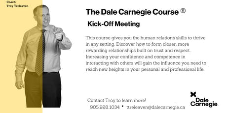 Dale Carnegie Course® - Kick-off (St. Catharines) tickets