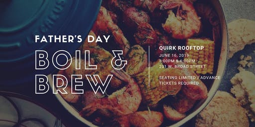 Father's Day Boil & Brew SOLD OUT