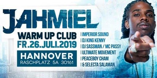 Jahmiel Live in Hannover Club Warm Up Party Good Vibes One Love