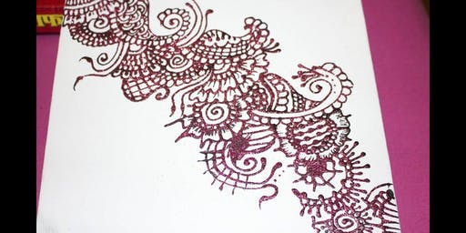 Henna on Canvas