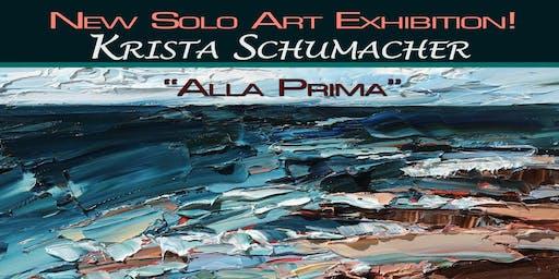 New Solo Art Exhibition - Krista Schumacher