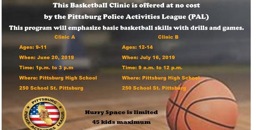 PAL BASKETBALL CLINIC