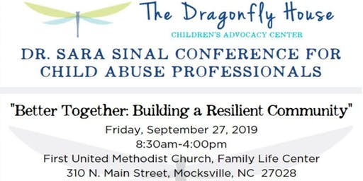 Dr. Sara Sinal Conference for Child Abuse Professionals