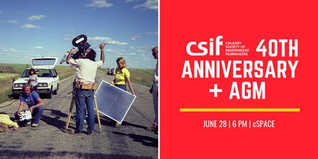 CSIF 40th Anniversary + AGM  tickets