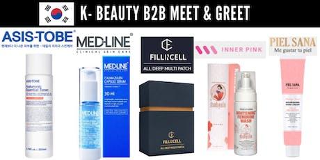 K-Beauty B2B Meet & Greet tickets