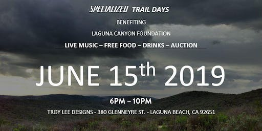 Party with Specialized and Troy Lee - Supporting Laguna Canyon Foundation