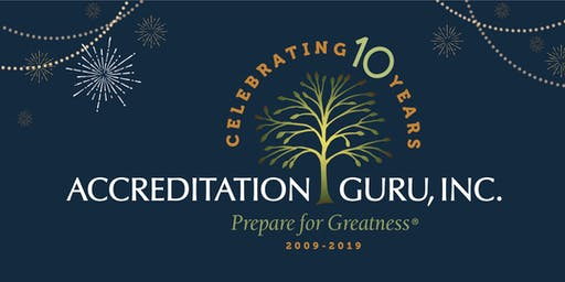 Accreditation Guru's 10th Anniversary East Coast Celebration
