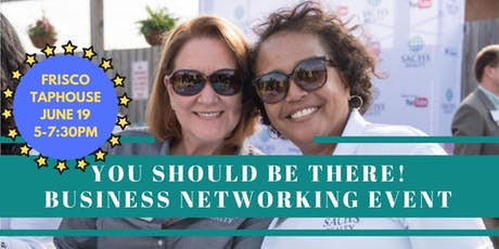 Sachs Realty's, Columbia, YOU SHOULD BE THERE Business Networking Event tickets