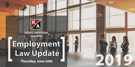 2019 Labor & Employment Law Update tickets