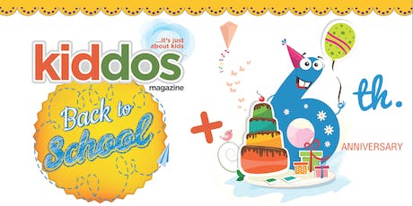 Kiddos 2019 Back to School & 6th Anniversary Event entradas