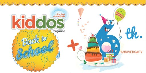 Kiddos 2019 Back to School & 6th Anniversary Event