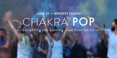 chakra POP! yoga x color (benefitting the Burning River Foundation)