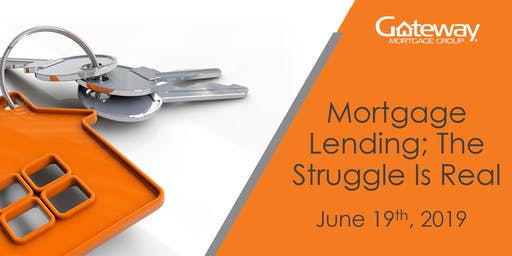 Mortgage Lending; The Struggle Is Real (3 hour Real Estate CE Course)