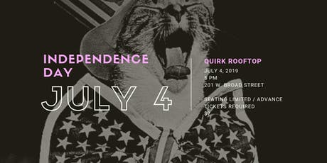 Quirk Hotel's Independence Day on Q Rooftop tickets
