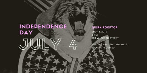 Quirk Hotel's Independence Day on Q Rooftop