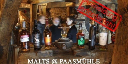 Whiskytasting: Malts at Paasmühle - Ladies Night!