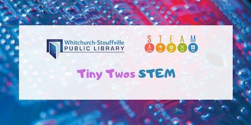 Tiny Twos STEM (Ages 24-35 mos)