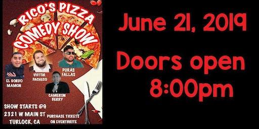 Comedy show @ Rico's Pizza