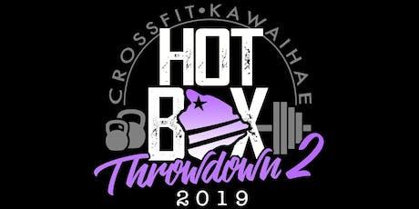 HotBox Throwdown 2 tickets