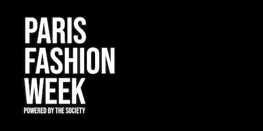 Paris Fashion Week powered by The SOCIETY