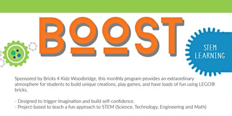 BOOST Lego Robotics tickets