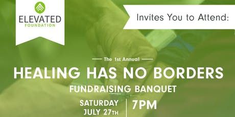 Elevated Awards Banquet: Healing Has No Borders tickets