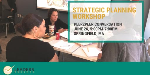 Peer2Peer Conversation: Strategic Planning
