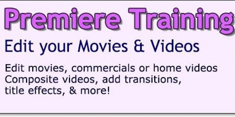 Save $100 on Adobe Premiere Level 2 Training Classes in LA or Live Online Anywhere!!! tickets