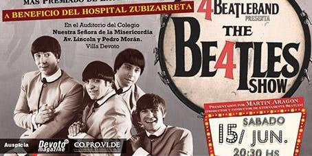 The 4 Beatle BAND en Devoto! Recital a beneficio del Hospital Zubizarreta