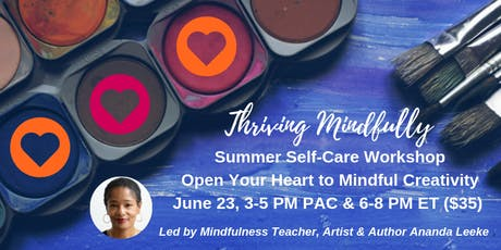 Open Your Heart to Mindful Creativity Workshop (online) tickets